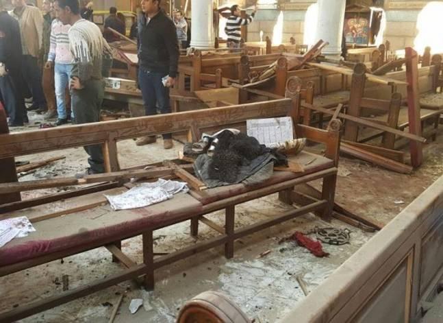 داعش يعلن مسؤوليته عن تفجير الكنيسة البطرسية