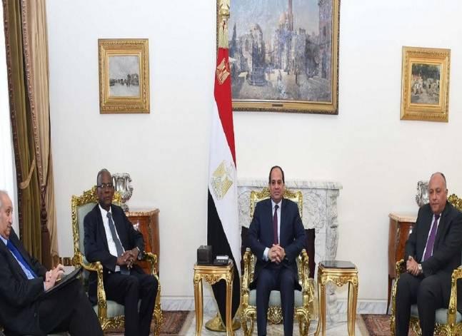 السيسي: القضية الفلسطينية ستظل ضمن أولويات السياسية الخارجية المصرية