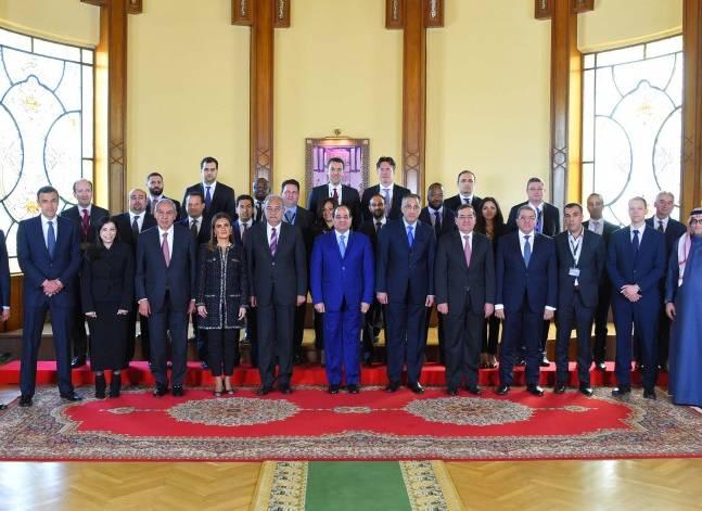 بدعوة من هيرميس ..السيسي يلتقي ممثلي 27 صندوقا عالميا للاستثمار