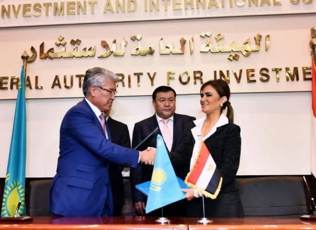 مصر توقع 3 مذكرات تفاهم مع قازخستان في مجالات العلوم والثقافة والأوقاف