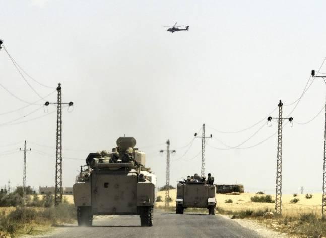 """المتحدث العسكري: مقتل 3 """"إرهابيين"""" في تبادل لإطلاق النار مع الأمن في سيناء"""