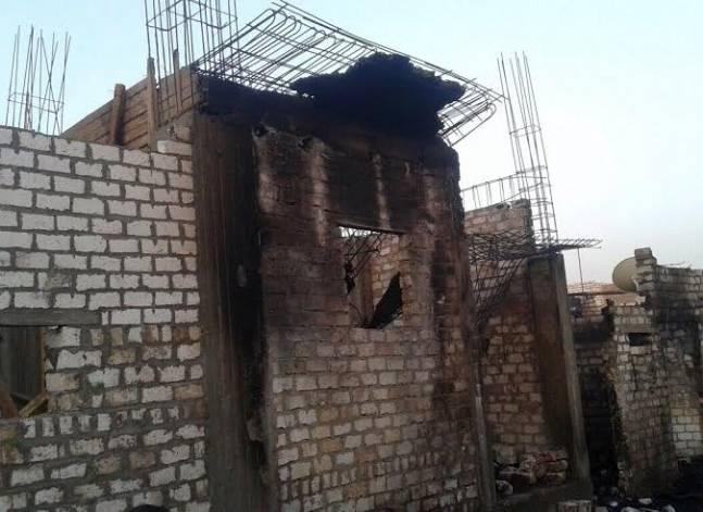 """مطرانية سمالوط تطالب بتعويض وبناء منازل الأقباط بأحداث """"كوم اللوفي"""""""