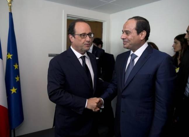 """أولوند لرئيس """"النواب"""": فرنسا تدعم مصر ممثلة في شخص رئيسها"""