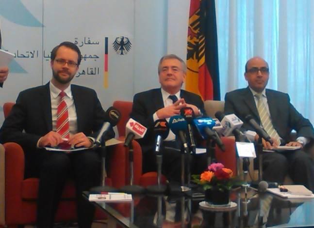 سفير ألمانيا: ميركل تزور مصر 2 مارس وتبحث قضايا اللاجئين والمجتمع المدني