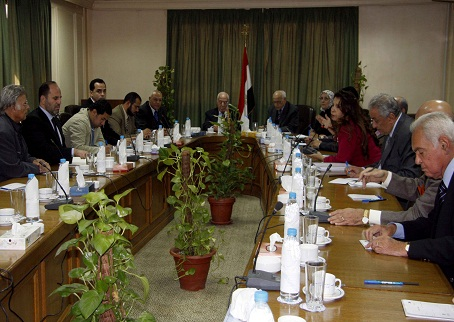 منصور حسن: لست مرشح أي جهة وسامح سيف اليزل يساعدني في الحملة