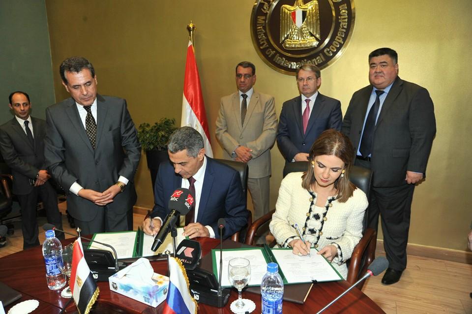 مصر توقع مع روسيا اتفاقية تصنيع مشترك في مجال السكك الحديدية