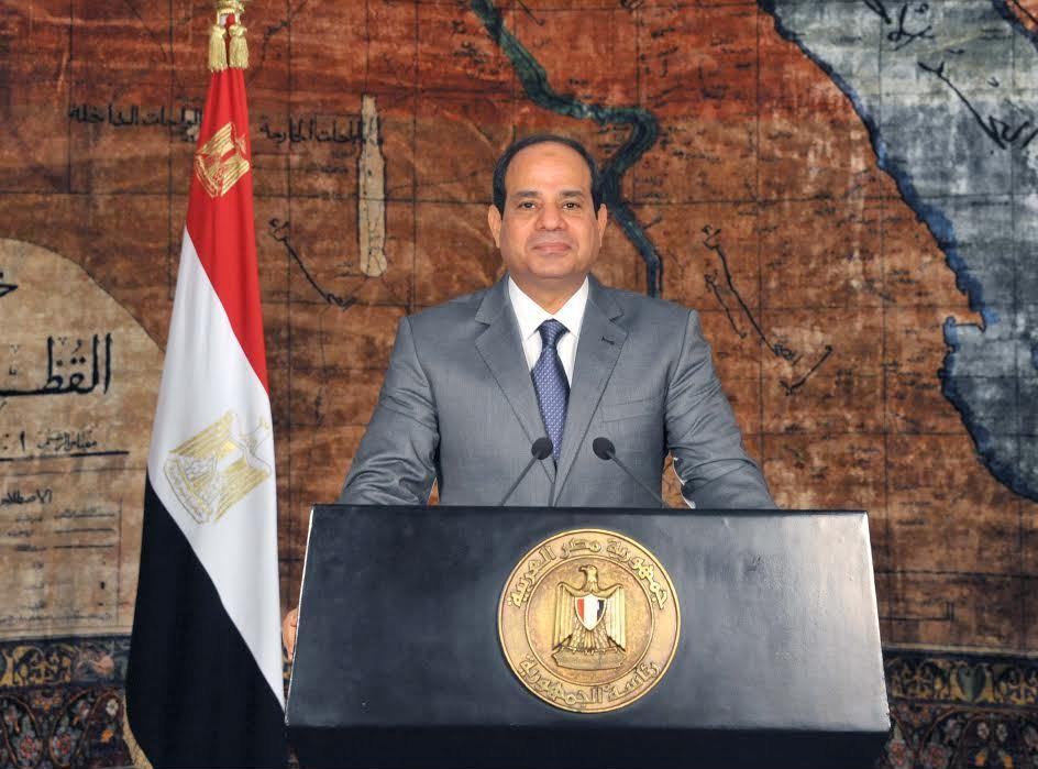 عاجل - التلفزيون الرسمي: الرئيس عبد الفتاح السيسي يوجه اليوم كلمة للأمة