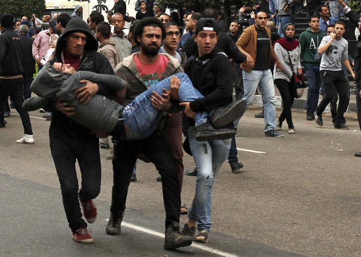 الصحة: 18 قتيلا و82 مصابا حصيلة أحداث العنف بالذكرى الرابعة لثورة 25 يناير