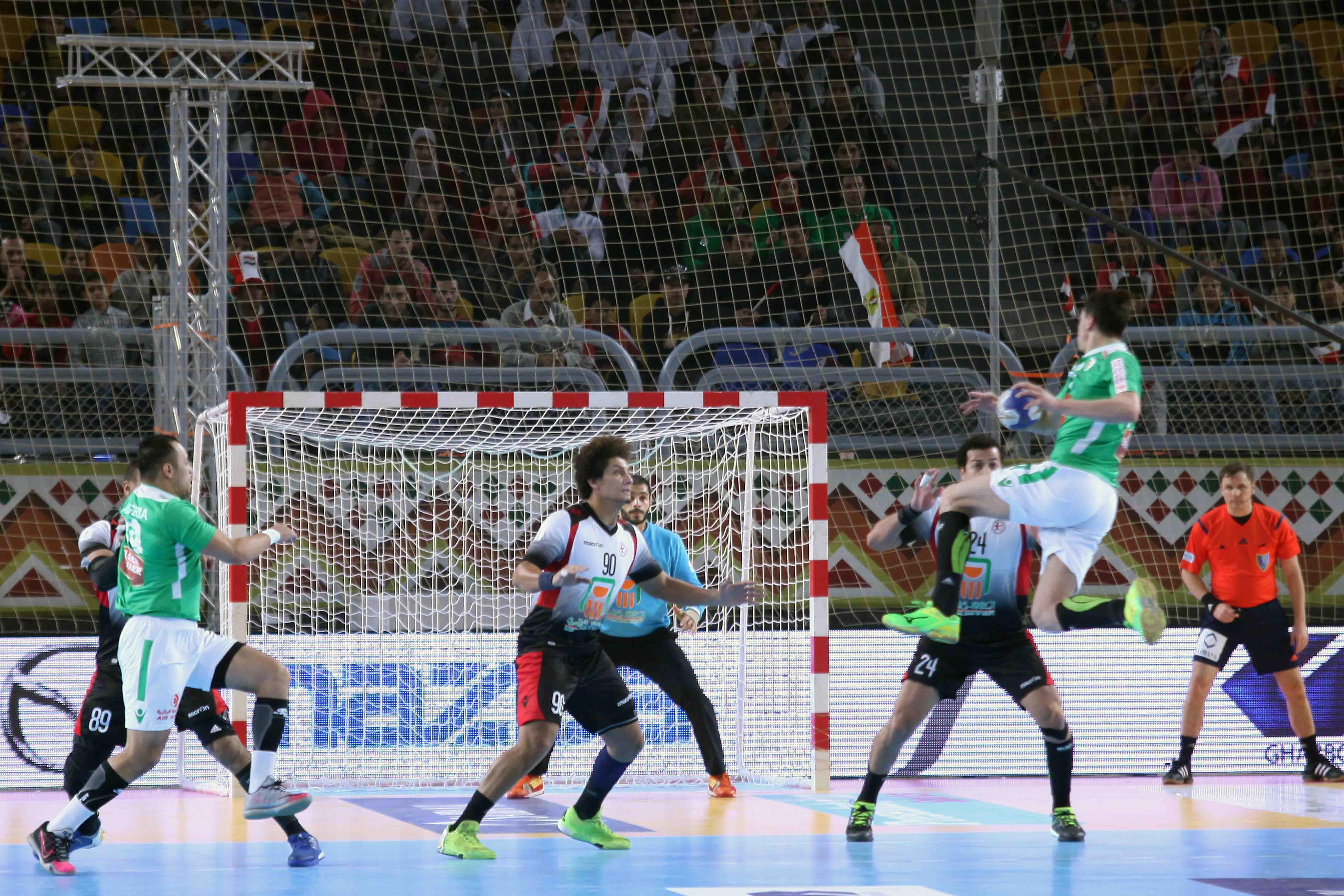 مصر تفوز على الكاميرون 30-20 في بطولة الأمم الأفريقية لكرة اليد