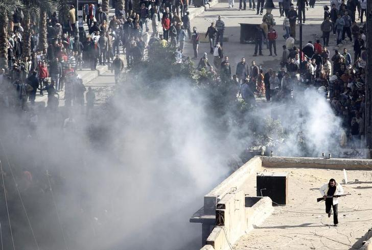 الجنايات تقضي ببراءة أمين شرطة من تهمة قتل المتظاهرين أثناء ثورة يناير بالزاوية الحمراء