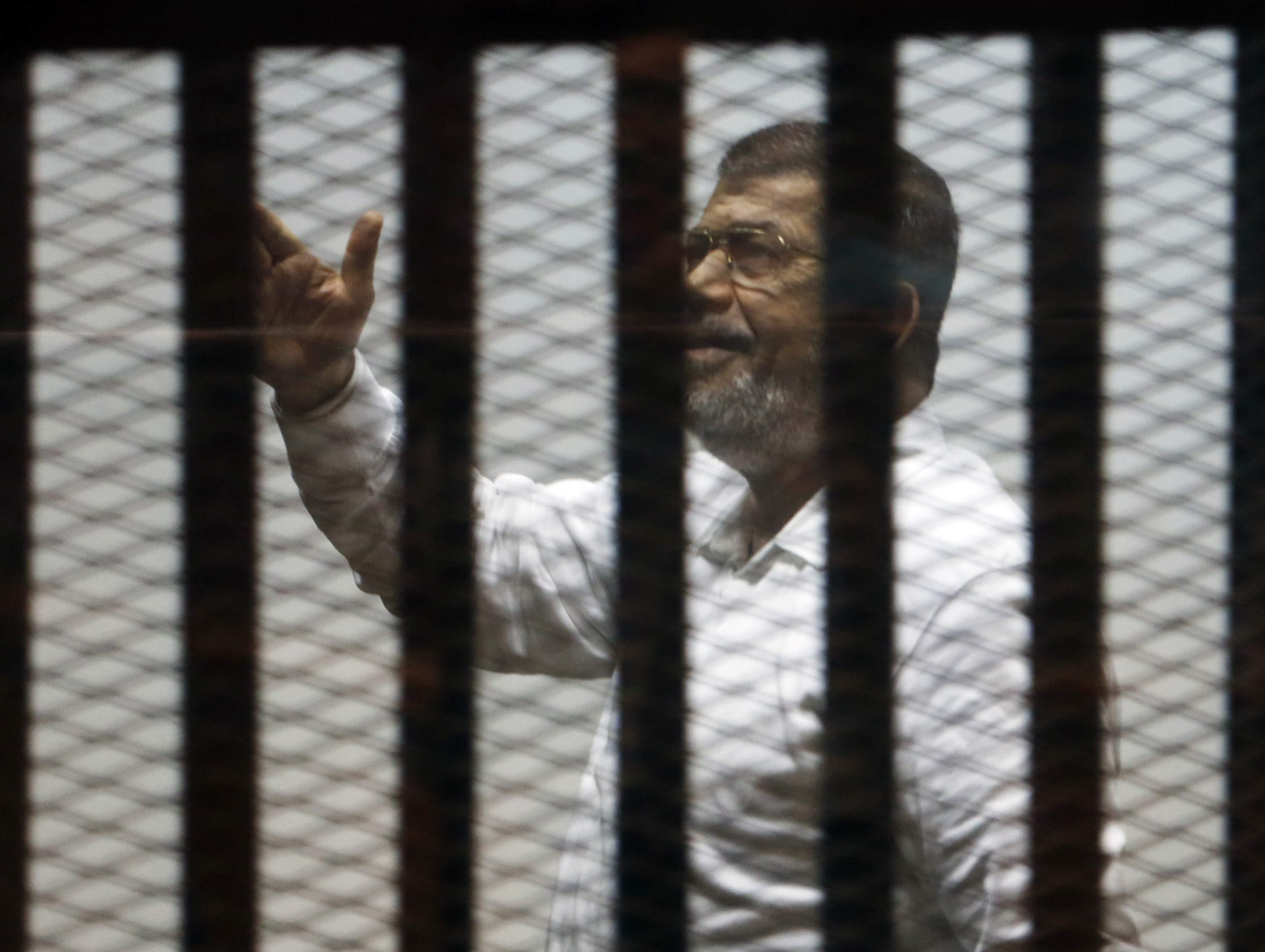 محكمة الجنايات تستمع إلى شهادة محمد مرسي في أحداث محاولة اقتحام سجن بورسعيد