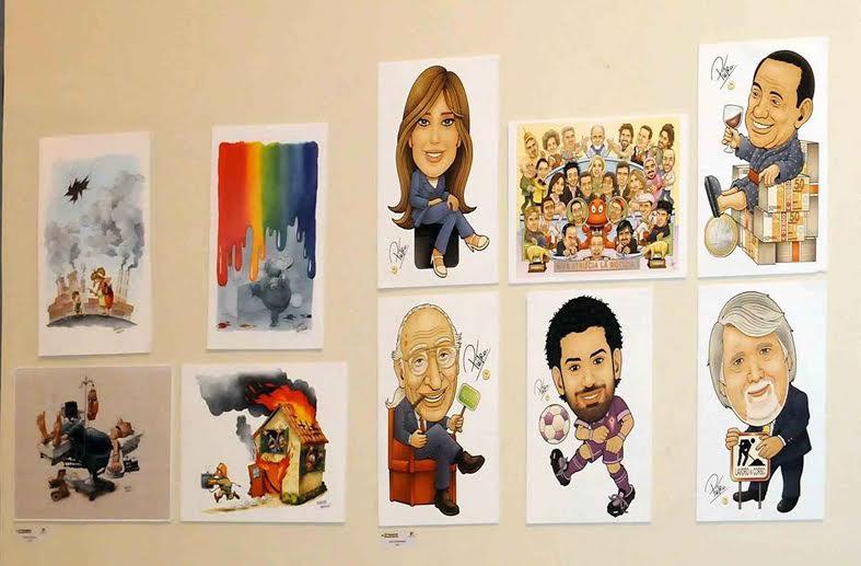 ملتقى دولي للكاريكاتير بالقاهرة يرسم بسمة توعية بقضايا البيئة والصحة