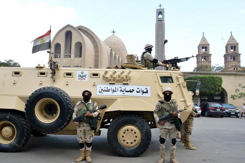 الجيش يشارك الشرطة في تأمين المنشآت ودور العبادة خلال احتفالات العام الجديد وأعياد الميلاد