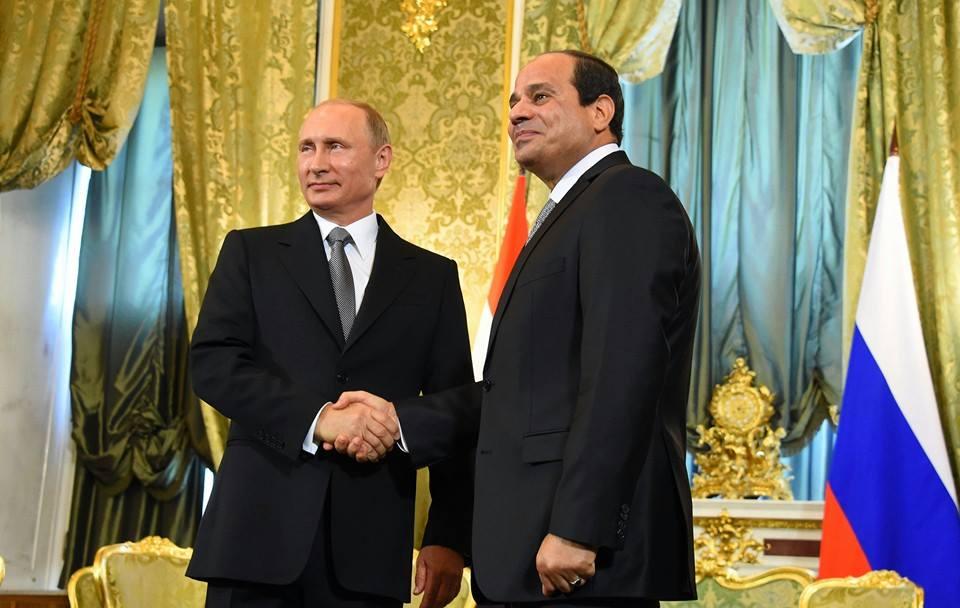 بوتين يُطلع السيسي على نتائج مباحثاته مع الأسد