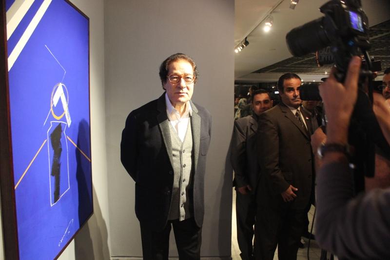 معرض بالقاهرة لأعمال فاروق حسني آخر وزير للثقافة في عهد مبارك