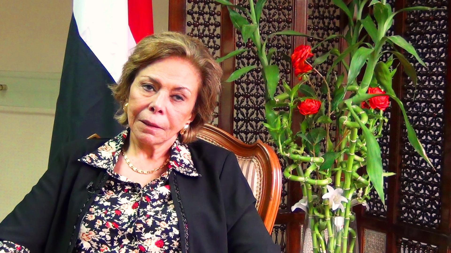 مرفت التلاوي: المجلس القومي للمرأة هوجم فقط لأن رئيسته كانت سوزان مبارك